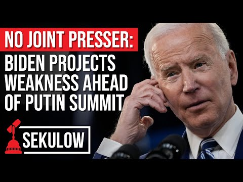 No Joint Presser: Biden Projects Weakness Ahead of Putin Summit