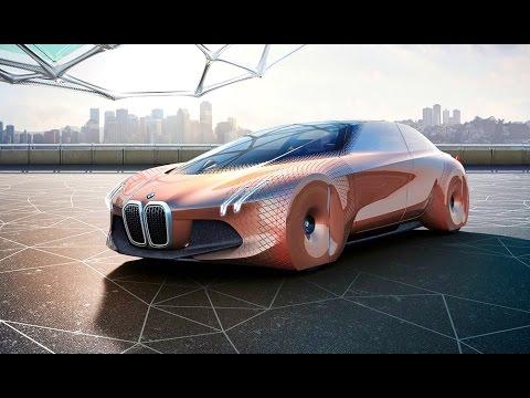 BMW Vision Next 100 Concept Car - беспилотный электромобиль будущего