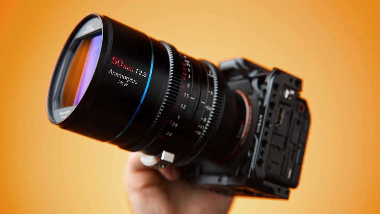 This FULL FRAME Anamorphic Lens ROCKS!