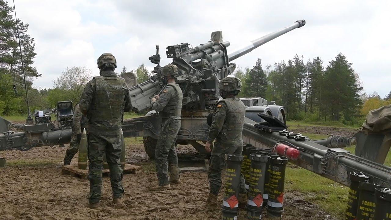 International Artillery Power at Dynamic Front 21 | Europe