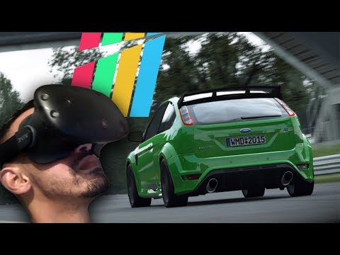 PROJECT CARS VR - FOCUS RS - GAMEPLAY ONLINE (HTC VIVE)
