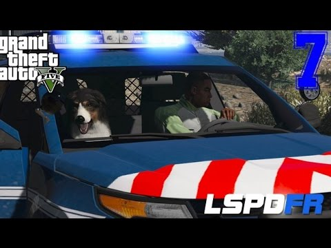 GTA 5 - LSPDFR - GENDARMERIE NATIONALE - MAITRE CHIEN