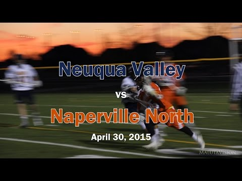 Neuqua Valley HS vs Naperville North Lacrosse 2015 (Full Game Highlights)