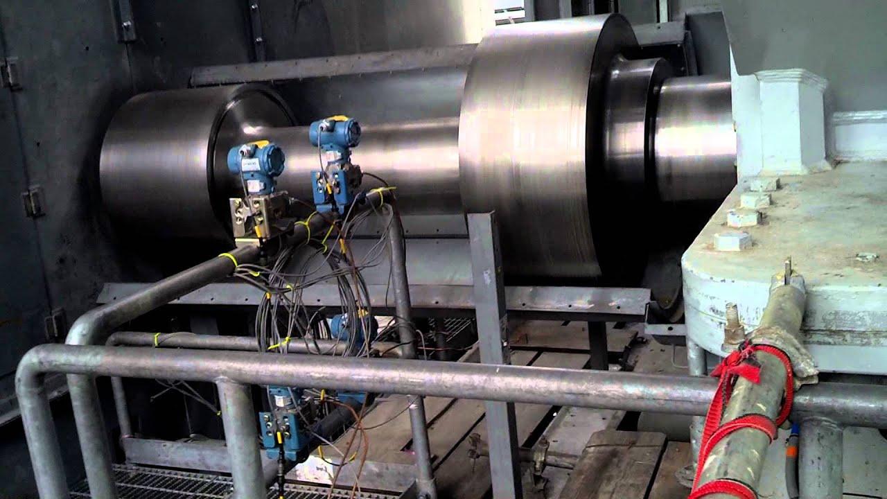 Siemens 8000H bustion Turbine on Turning Gear