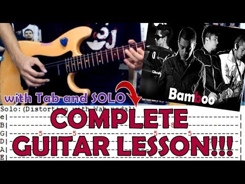 Hallelujah Bamboocomplete Guitar Lessoncoverwith Chords And Tab