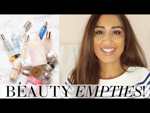 BEAUTY EMPTIES - WHAT I'VE BEEN LOVING! | Beauty Passionista