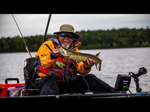 Kayak Fishing Canada's Famous Algonquin Provincial Park