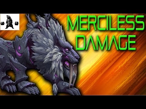 ALMOST UN-PEELABLE DAMAGE! | Feral Druid WoW Legion