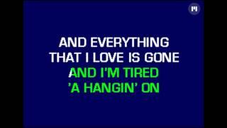 Bartender Song - Karaoke
