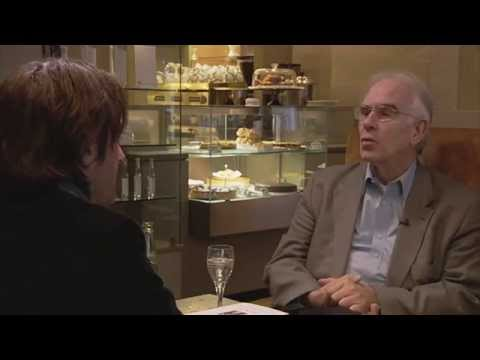 Christoph Wolff about his book on Bach Cafe Gloria Leipzig