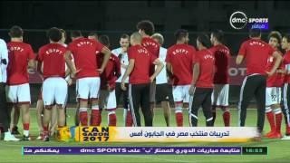 Can 2017 - محمد بركات يكشف حقيقة اصابة شريف اكرامي في تدريبات منتخب مصر