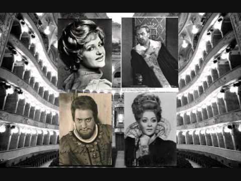 T. Zylis-Gara,N. Ghiaurov,. Cappuccilli,F. Cossotto-Don Carlo Quartet-Giustizia, Sire!Th. Schippers