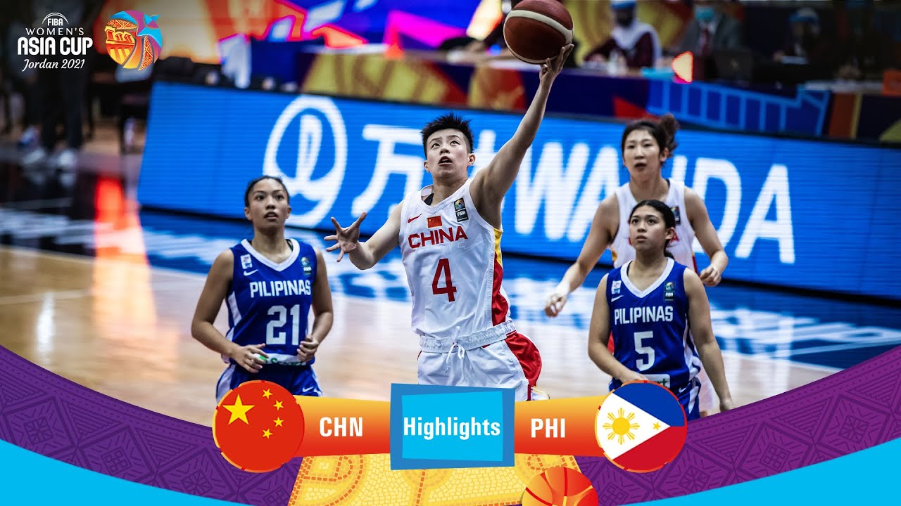 China - Philippines   Highlights - FIBA Women's Asia Cup 2021
