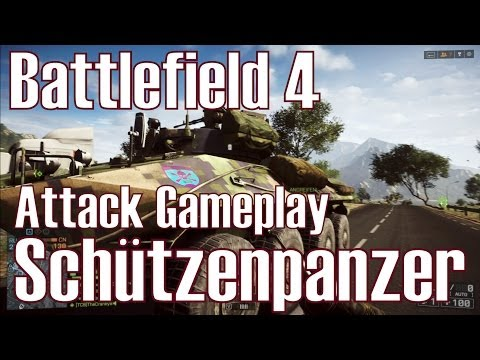 Battlefield 4 ✯ Schützenpanzer ✯ Attack Gameplay Deutsch/HD
