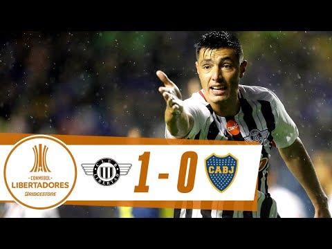 GOL: Libertad 1-0 Boca Juniors