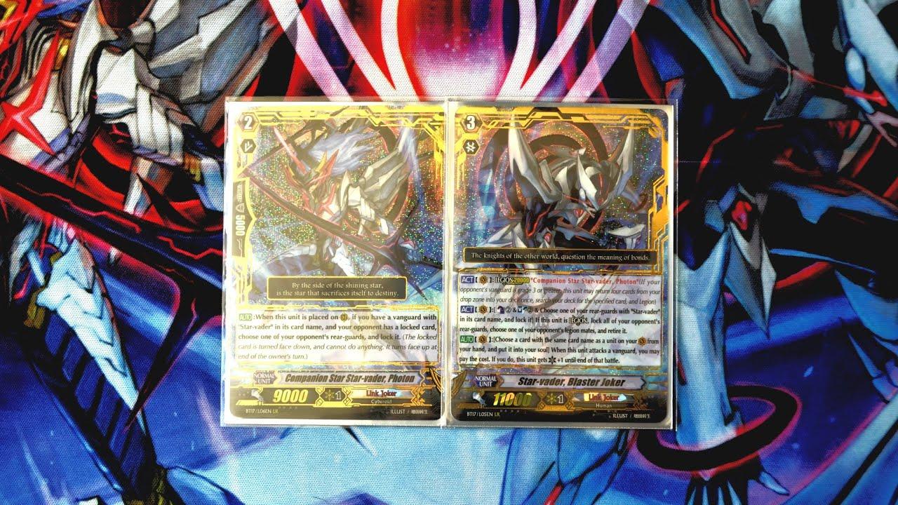 cardfight vanguard starvader blaster joker deck