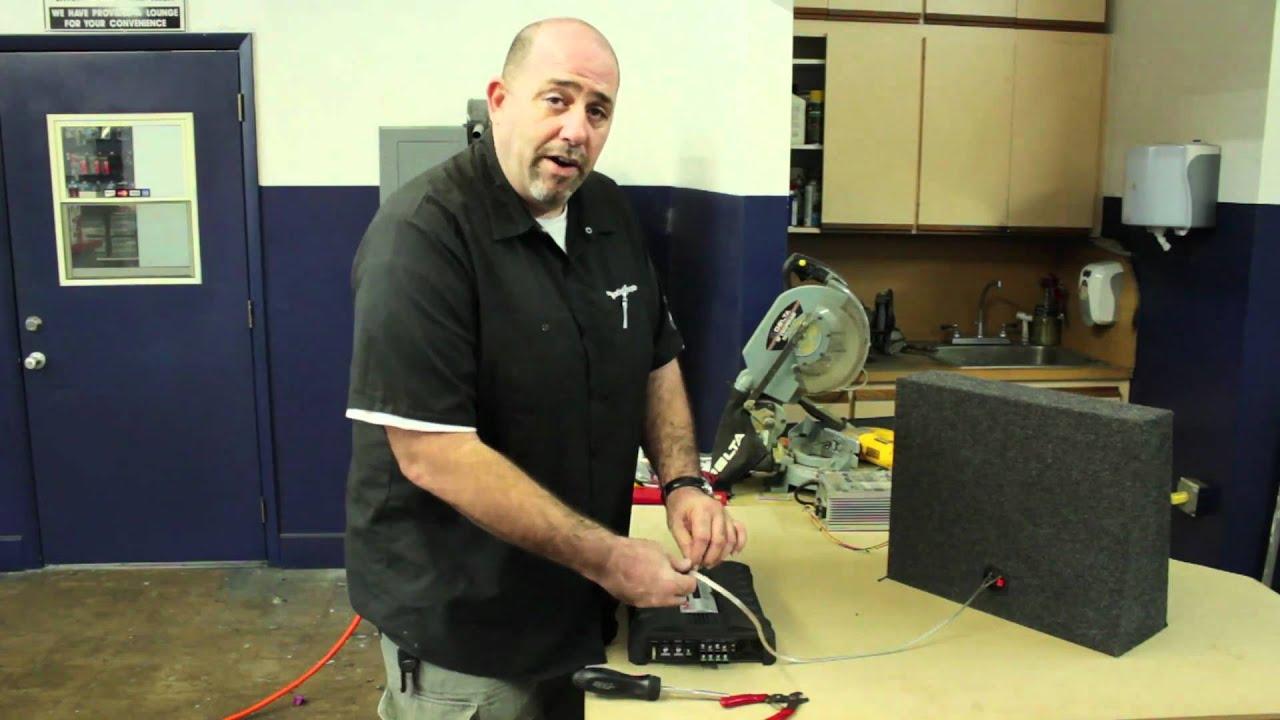 maxresdefault car audio how do you bridge a car amplifier? youtube  at soozxer.org