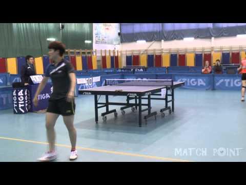 ZOU Yang - LIU Yalin. Russian Women's Premier League 2014-2015. Play off
