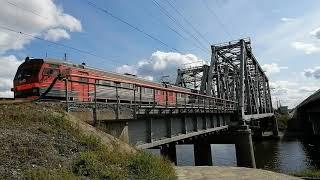 ЖД Мост через Бердский залив