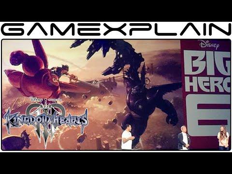 Big Hero 6 is Coming to Kingdom Hearts 3! - News Update