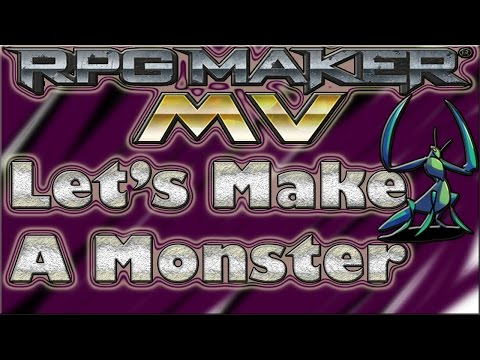 Let's Make A Monster ☻ Primal Mantis - RPG Maker MV Tutorial √