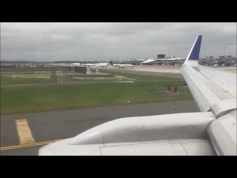 United 757-200 Powerful Takeoff from Washington-Dulles Airport IAD