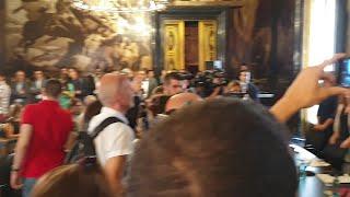 Colau presenta la Zona de Bajas Emisiones de Barcelona