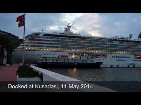 Mediterranean Cruise on Crystal Serenity 2014