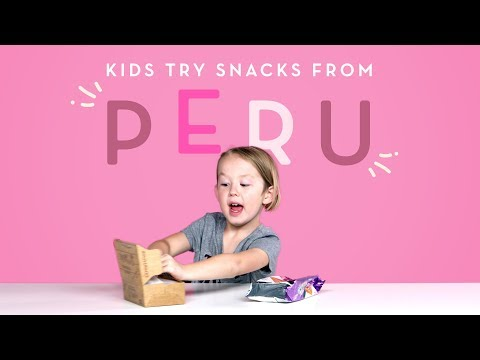 Kids Try Snacks from Peru | Kids Try | HiHo Kids
