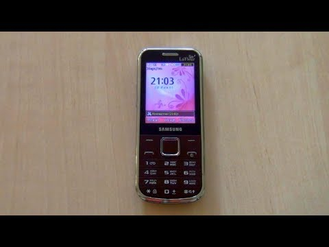 Samsung GT C3530 Incoming Call