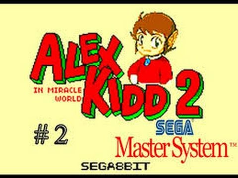 Alex Kidd In Miracle World 2 (Build) - Mega EverDrive