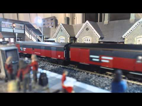 class 47 on mail run and  class 47 on tiger tanker run