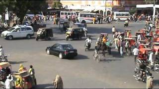 Try crossing this street in India!!  Part 1