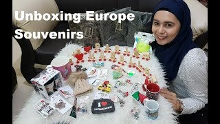 Unboxing my Europe Souvenir Gifts