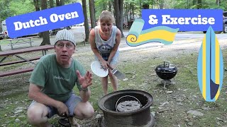 Vermont Lake Camping, Rν Exercise, & Dutch Oven Cooking
