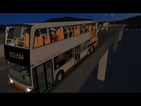 [OMSI2 Ep 3] GG2 - Great Grundorf Airport Bus Service Route A4 Airport  GTC→Hong Shing Port
