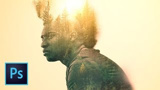 Create a Double Exposure Image in Photoshop (Amazing Double Exposure Effect Tutorial) | Educational