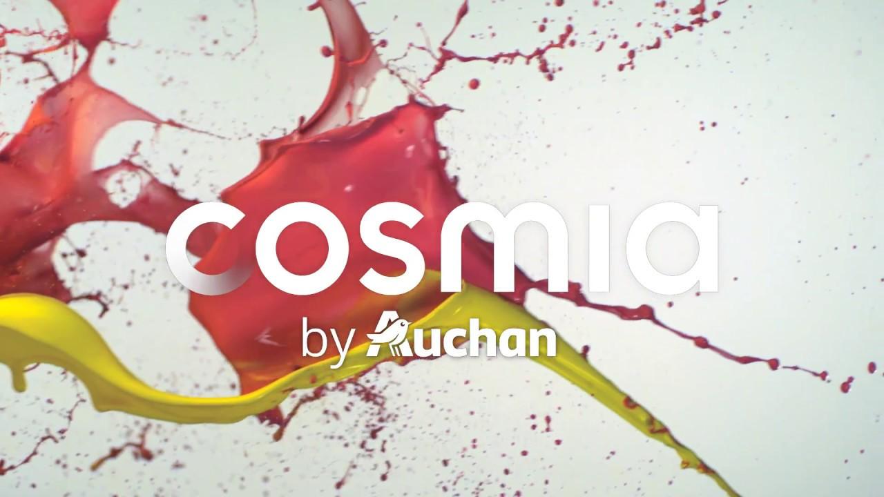Cosmia Nouvelle Marque De Beauté Auchan Youtube