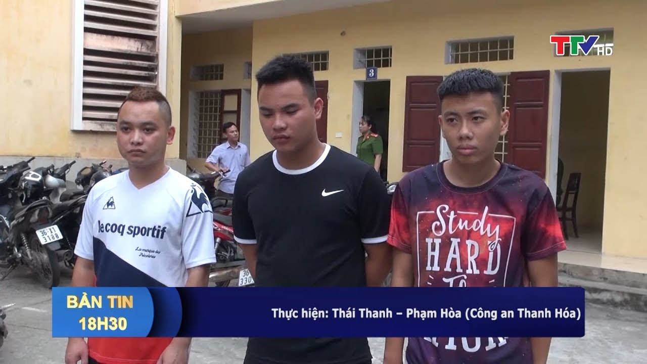 Bắt 3 đối tượng chém người tại tiệm bánh trung thu ở thành phố Thanh Hóa