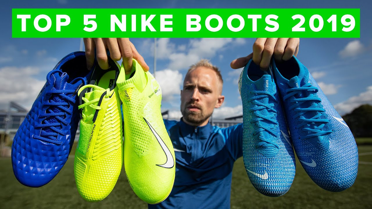 BEST NIKE FOOTBALL BOOTS 2019 | Top 5