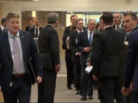 News in 90: Mattis Attends First NATO Meeting
