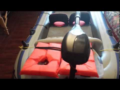 sevylor motor mount instructions