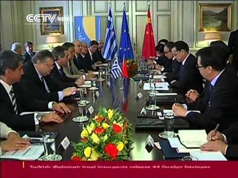 Chinese Premier Li Keqiang visits Greece
