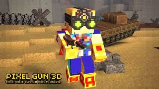 Pixel Gun 3D Unlock New Legendary Weapons - Gameplay Part 128 - Pixel Gun 3D (iOS, Android Gameplay)