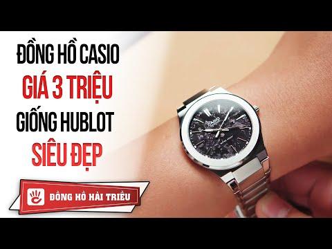 Casio Review #9 |  Đồng Hồ Casio Beside Giá 3 Triệu Giống đồng Hồ Hublot