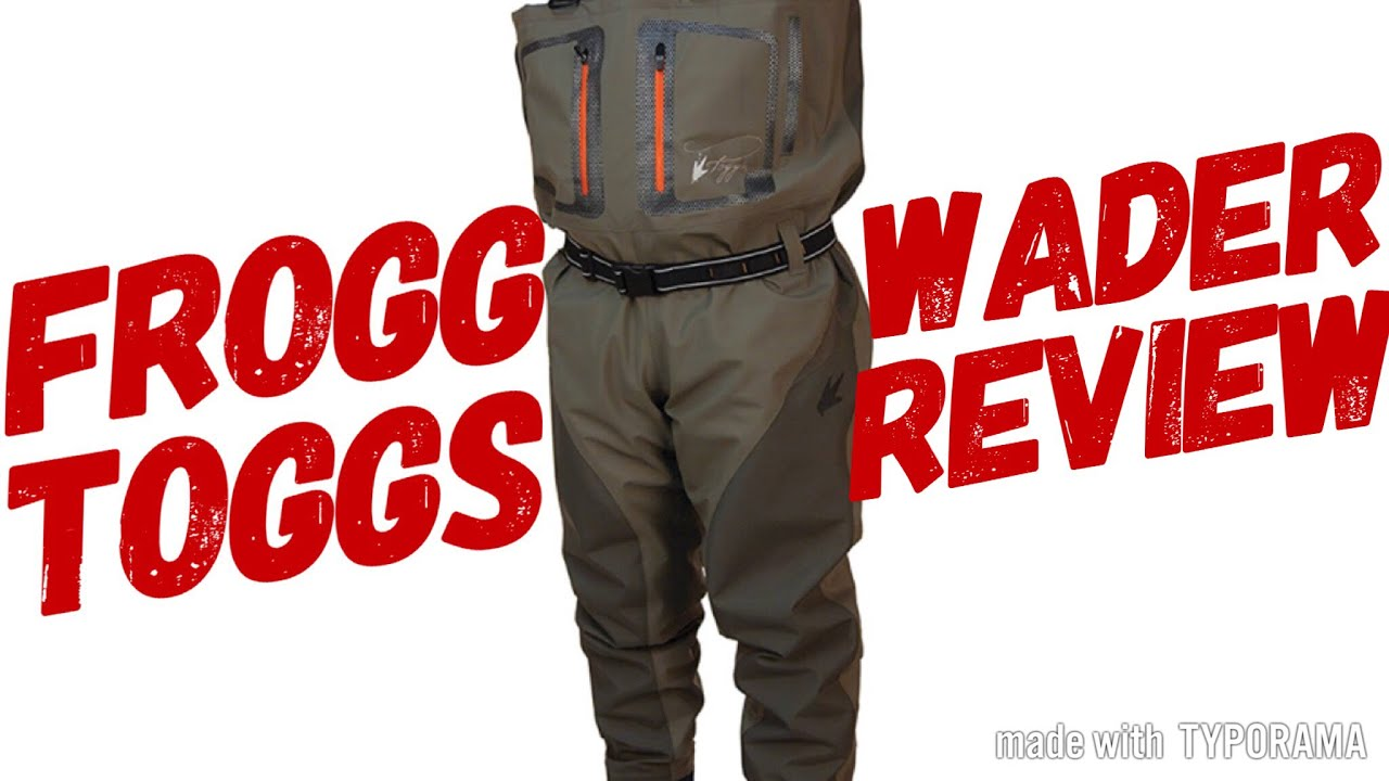 b65f8551d0252 Frogg Toggs Pilot 2 wader review - YouTube