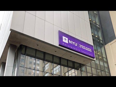 뉴욕대학교 브루클린 캠퍼스 걷기 - Walking in NYU Brooklyn Campus (1/3/2020)