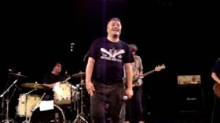 "Jello Biafra and the Guantanamo School of Medicine - ""Holiday in Cambodia"" - Grass Valley, Ca."