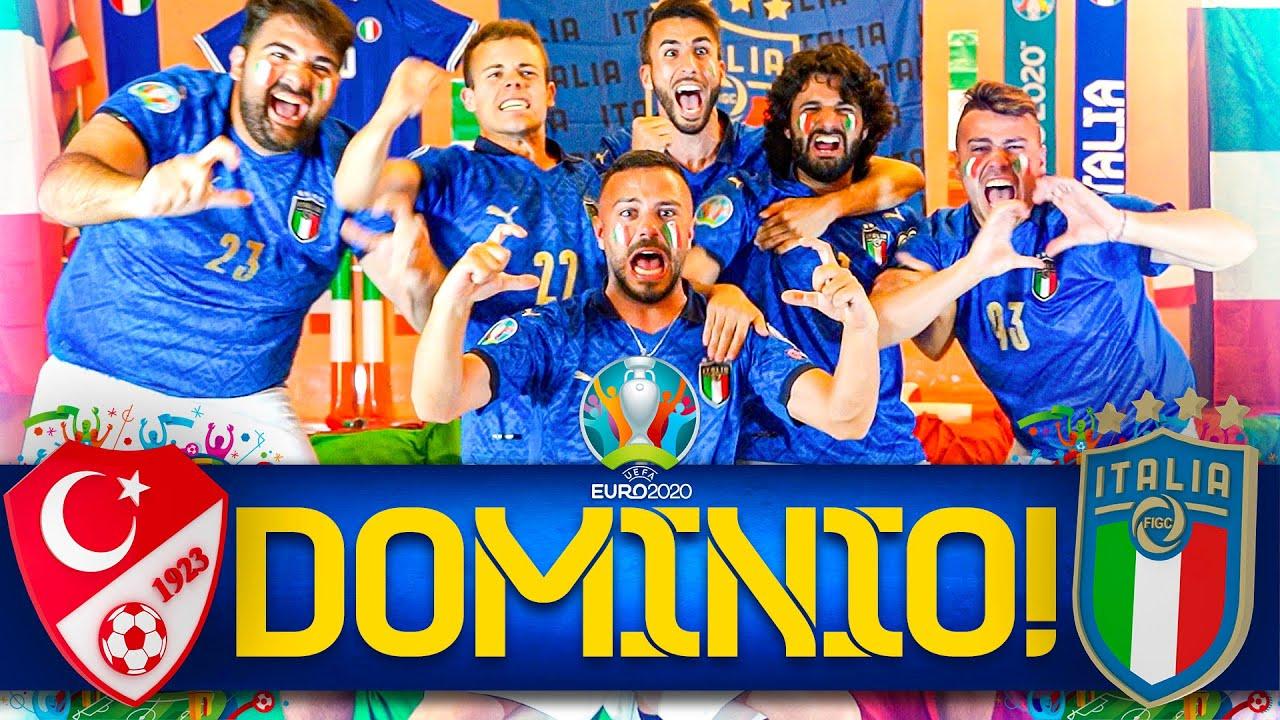 DOMINIO!!! 🇹🇷TURCHIA 0-3 ITALIA🇮🇹 | LIVE REACTION ELITES HD