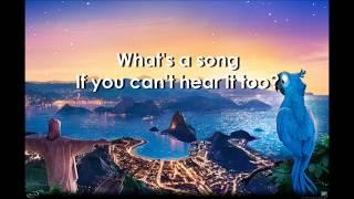 What Is Love - Janelle Monae    Lyrics Video    Rio 2 Sound Track HD